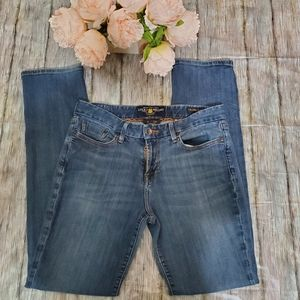 Lucky Brand The Sweet Jean Straight Size 6